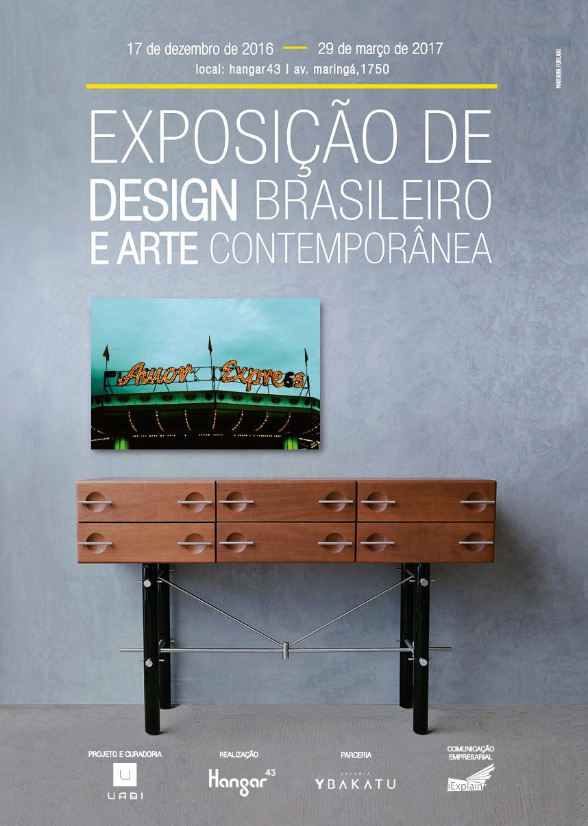 exposição arte contemporânea design brasileiro londrina uabi
