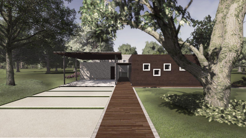 casa na estância - projeto de residência em londrina - 2015